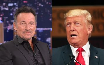 Bruce Springsteen speaks out about 'moron' Donald Trump