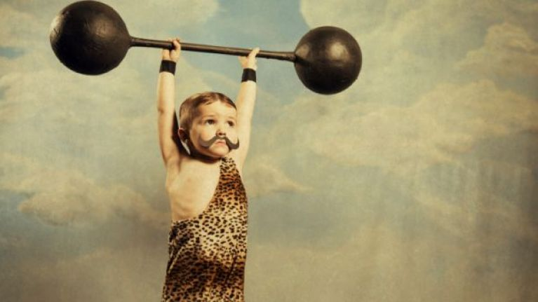 PIC: This 3-year-old Australian kid with a six pack is in better shape than all of us