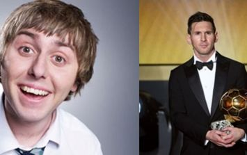 TWEET: Jay from The Inbetweeners had the best response to the Ballon d'Or