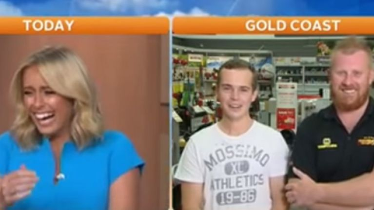 VIDEO: 'The most Australian interview ever' is going viral because it's superb