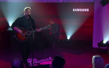 VIDEO: Gavin James got an amazing reception for this performance on Jimmy Kimmel Live