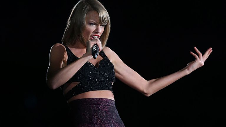 Anyone else want to inform Taylor Swift that Ireland is not part of the UK?