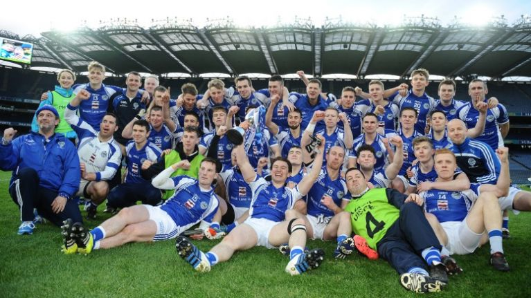 PIC: This fan's gesture to the losing team sums up everything that's good about GAA