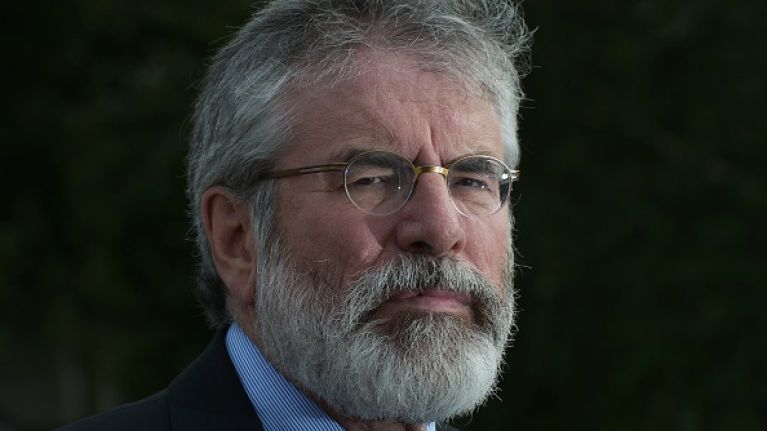 Gerry Adams strongly criticises Theresa May and the DUP for their handling of Brexit
