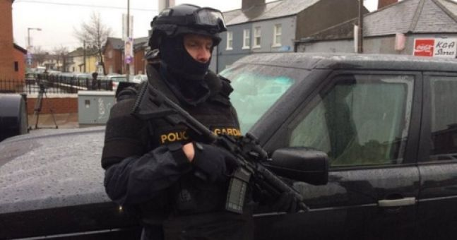 PICS: There are armed Gardaí on the streets of Dublin as gang feuds escalate