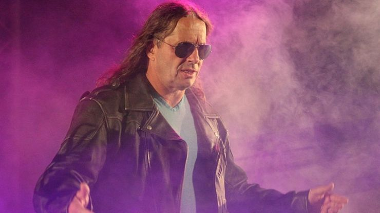 PIC:  Bret 'The Hitman' Hart reveals he has prostate cancer in courageous and moving Facebook post