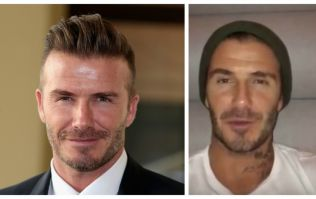 VIDEO: David Beckham records message of support for terminally ill Manchester United fan
