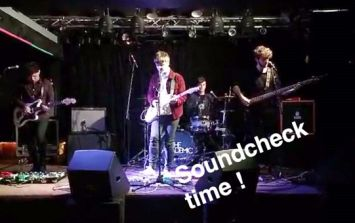 VIDEO: The Academic's JOE Snapchat takeover for their gig in Cork last night