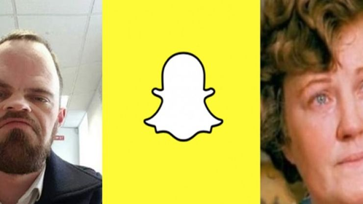 PICS: Irishman uses Snapchat filters to convince worried mother his face is hideously deformed