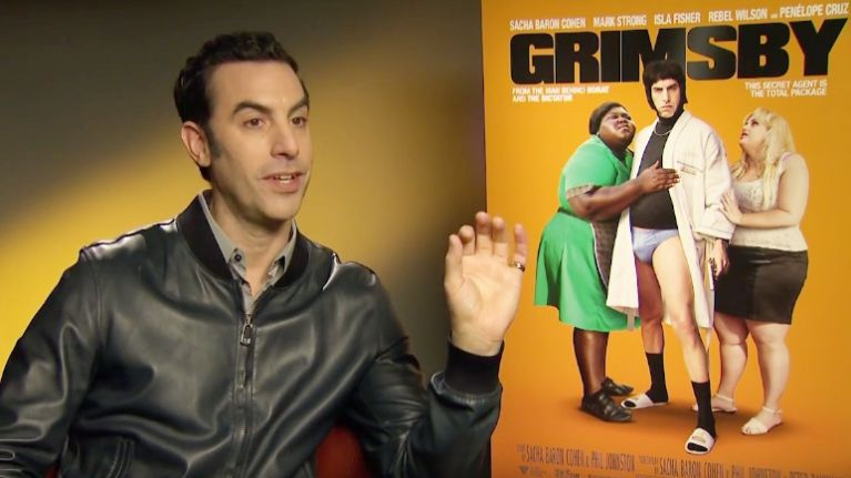 VIDEO: Sacha Baron Cohen chats Grimsby, Ali G and ...Sacha Baron Cohen Movies