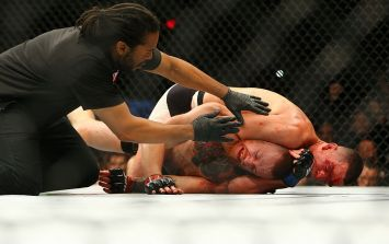 GALLERY: Images from that earth-shattering Conor McGregor defeat in Las Vegas [GRAPHIC]