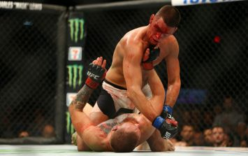 PIC: Nate Diaz has spectacularly hit back at Justin Bieber over criticism of his fighting style