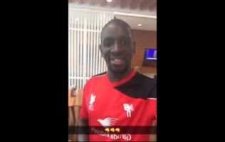VIDEO: Mamadou Sakho introduces a very special guest at Liverpool training