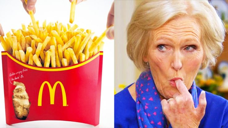 McDonalds' latest offering looks like something Mary Berry would make