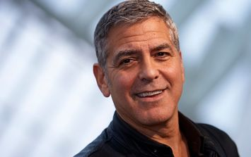 """George Clooney has gone in hard on Donald Trump: """"F**k you!"""""""