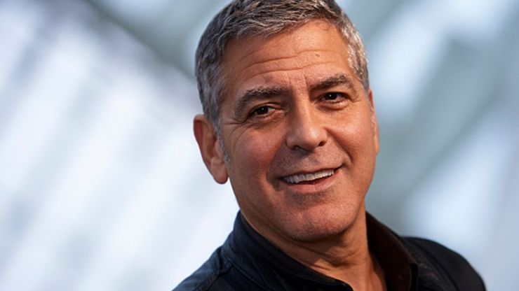 "George Clooney has gone in hard on Donald Trump: ""F**k you!"""