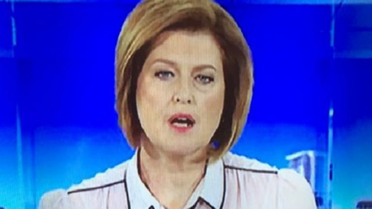 PIC: Australian news reporter's wardrobe malfunction goes viral for all the wrong reasons