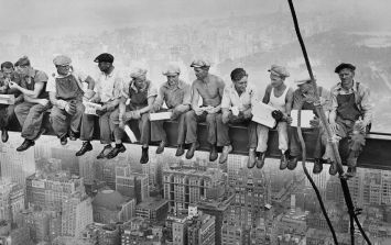 PICS: These Galway friends recreated this famous New York Builder photo to win their Paddy's Day parade