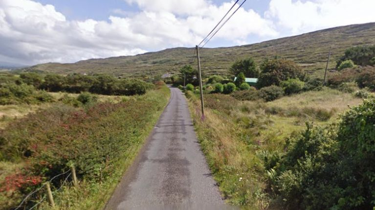 Firefighters dealing with a massive gorse fire in West Cork