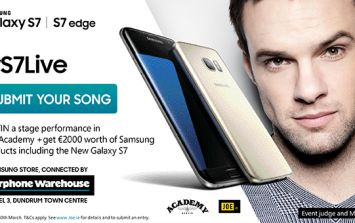 Musicians! You still have time to enter the Carphone Warehouse #S7Live competition & win up to €2,000 worth of Samsung products & a gig in The Academy