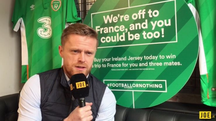 VIDEO: Damien Duff talks to JOE about football friends, his favourite club and Euro 2016