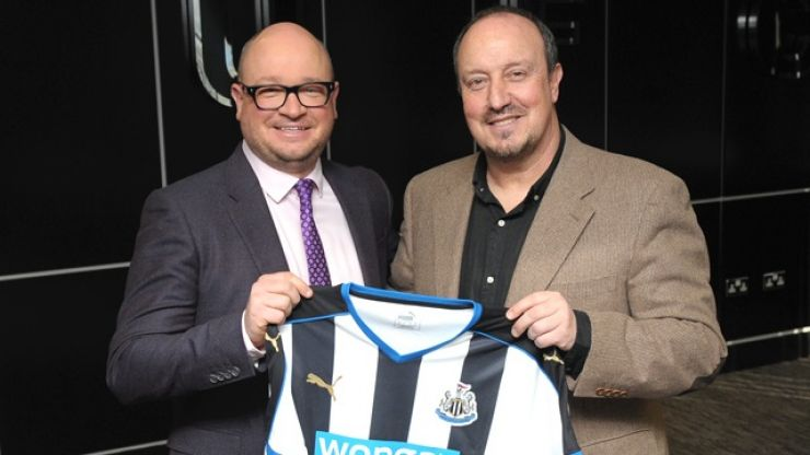 Newcastle United have appointed Rafa Benitez as their new manager