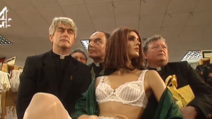 PIC: Irish stag in Liverpool perfectly recreate this iconic Father Ted scene