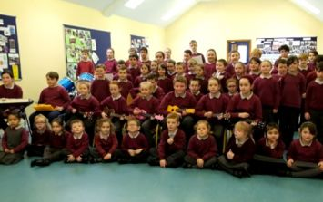 VIDEO: A Primary School in Cork's amazing version of The Riptide Movement's All Works Out