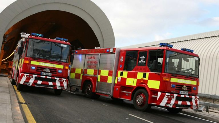 A woman in her 90s has died after a house fire in north Dublin