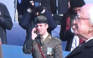 PIC: Other photo of the soldier on the phone reminds us all to think before we judge