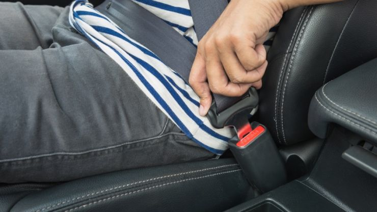 33% of young adults admit they don't wear a seatbelt while driving