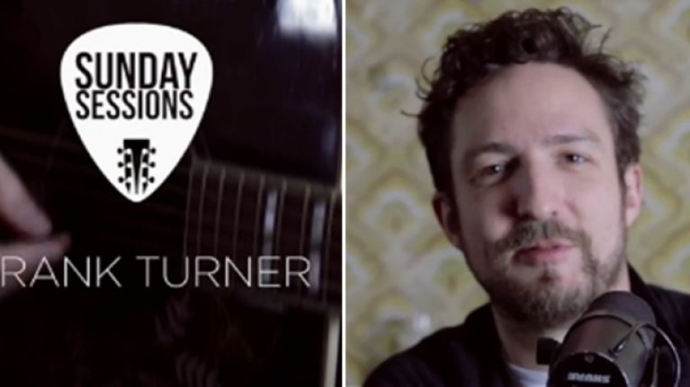 Sunday Sessions - Frank Turner