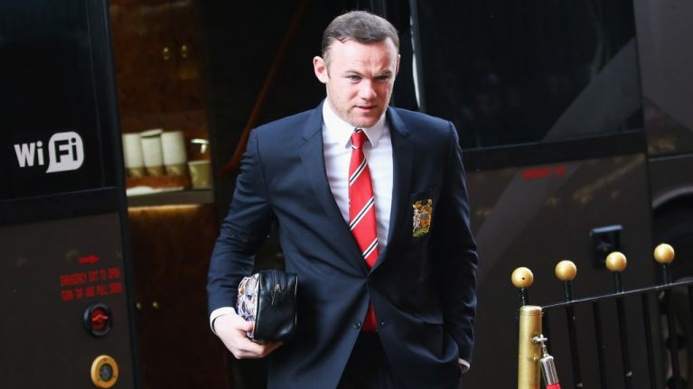 PIC: Wayne Rooney has just paid tribute to the Buncrana victims