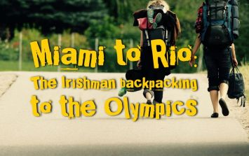 Kerry to Rio: The Irishman backpacking to the Olympics
