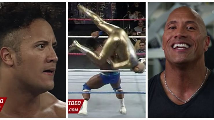 VIDEO: The Rock reflecting on his first ever WWE match is a must-watch
