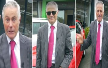 WATCH: Call off the search, we've found the most enthusiastic salesman in Ireland