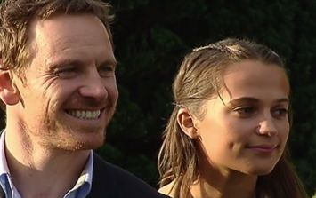 WATCH: Michael Fassbender is in Kerry right now as he receives his hometown's highest honour