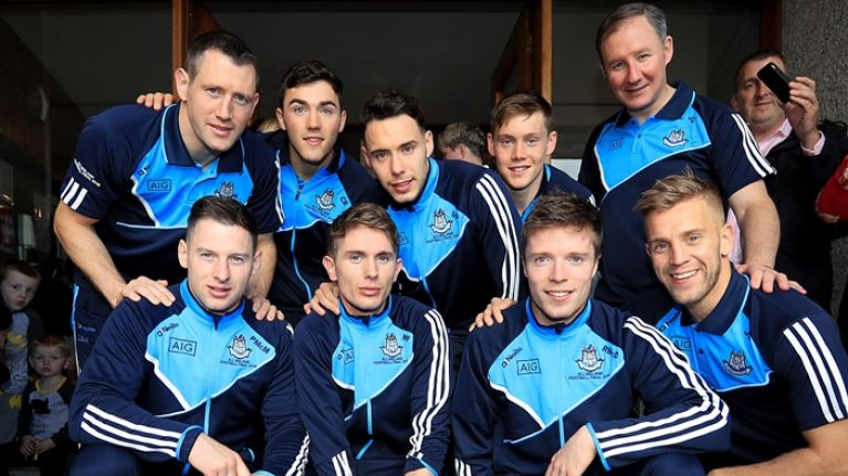 GALLERY: Dublin's players look bright and breezy the morning after All-Ireland win