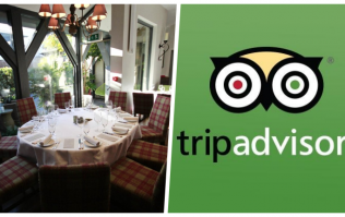 This is the best restaurant in Ireland according to TripAdvisor