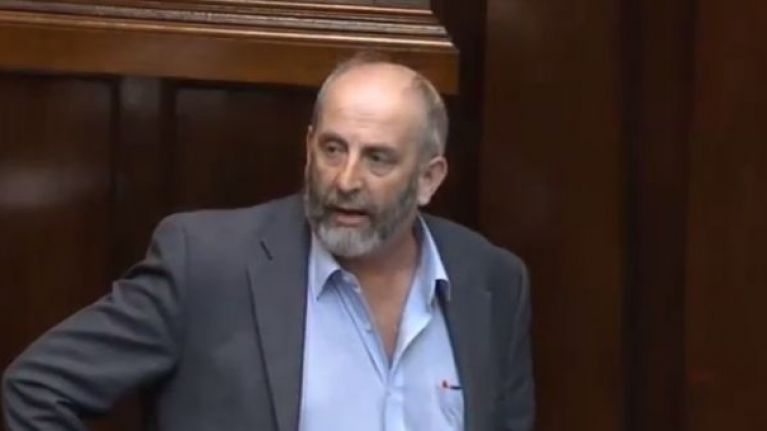 """One splash of water"" will damage an electric car, warns Danny Healy-Rae at climate change debate"
