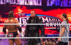 WATCH: The Undertaker and Shawn Michaels seemed to be teasing a Wrestlemania match on Monday Night Raw