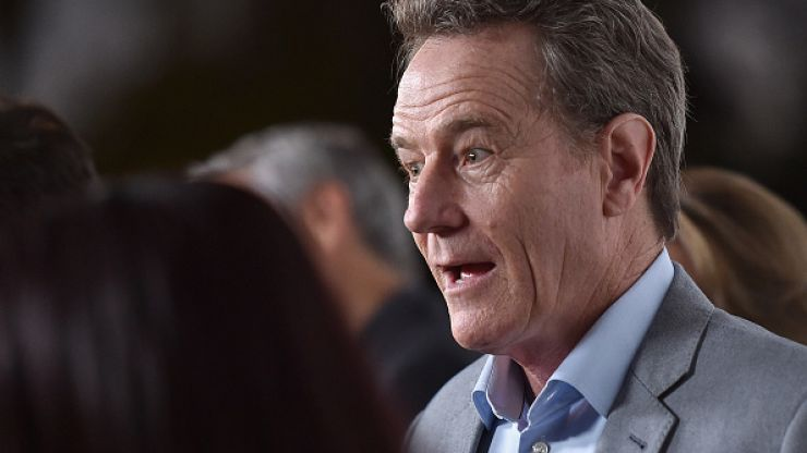 A complete stranger met Bryan Cranston yesterday, and he did something lovely