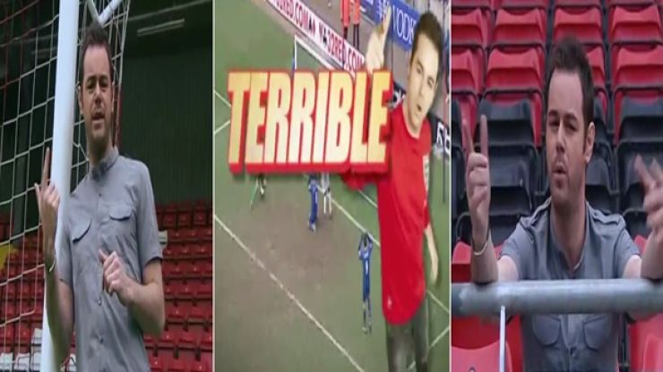 WATCH: Danny Dyer's Football Foul-Ups edited into 90 seconds is the facking business