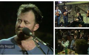 EXCLUSIVE VIDEO: Watch previously unreleased footage of a young Christy Moore and Planxty performing The Jolly Beggar