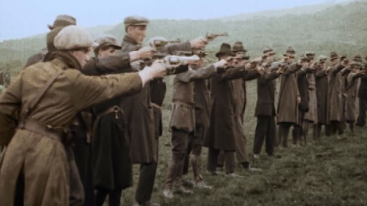 WATCH: The Irish War of Independence now has a fully colourised documentary