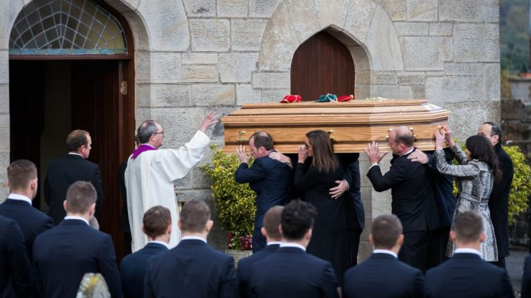 The beautiful and moving homily read by Father Pat Malone at the