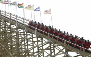 Take a first look at Tayto Park's brand new and exciting ride, The Viking Voyage