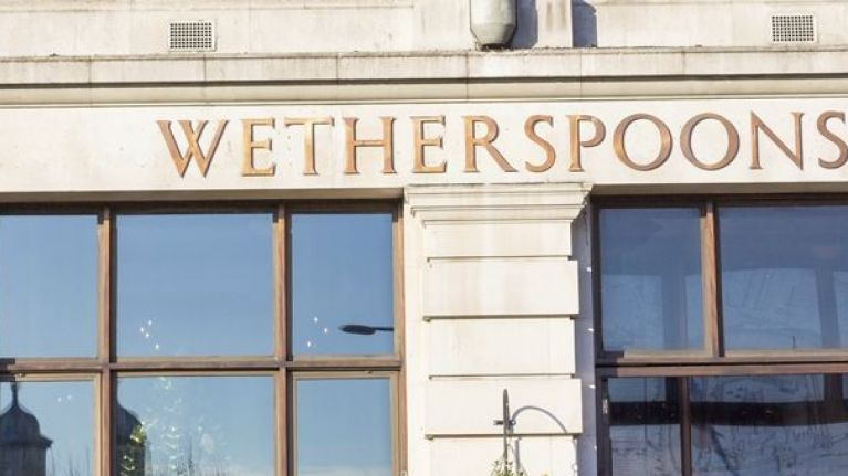 Pub giants Wetherspoon have shut down their Facebook, Instagram and Twitter pages