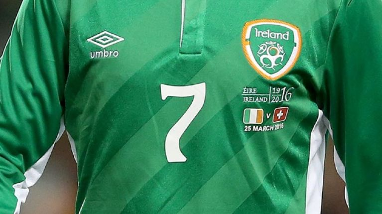 PIC: Ireland team to wear special jersey vs USA for Pride Month
