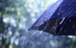Met Éireann has issued a rainfall warning for three counties